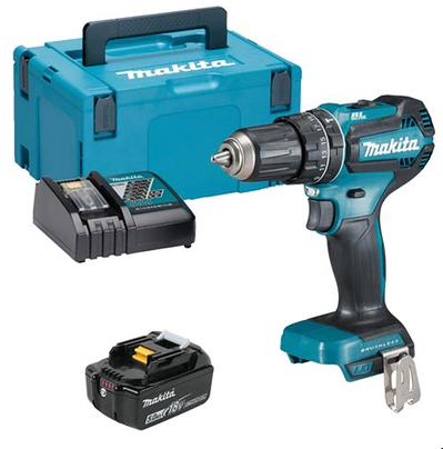 Cursor_and_Makita_DHP485RTJX_18V_LXT_Brushless_Combi_Drill_with_1_x_5Ah_Battery__Charger_and_Case